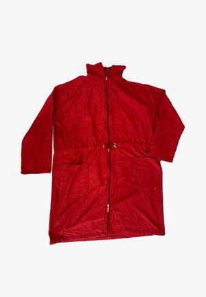 REISSVERSCHLUSS KNIELANG - Dressing gown - red