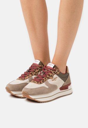 RUSPER LEO - Sneaker low - camel