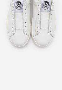 Diesel - CLEVER S-CLEVER SO WSNEAKERS - Slip-ons - white/black - 5