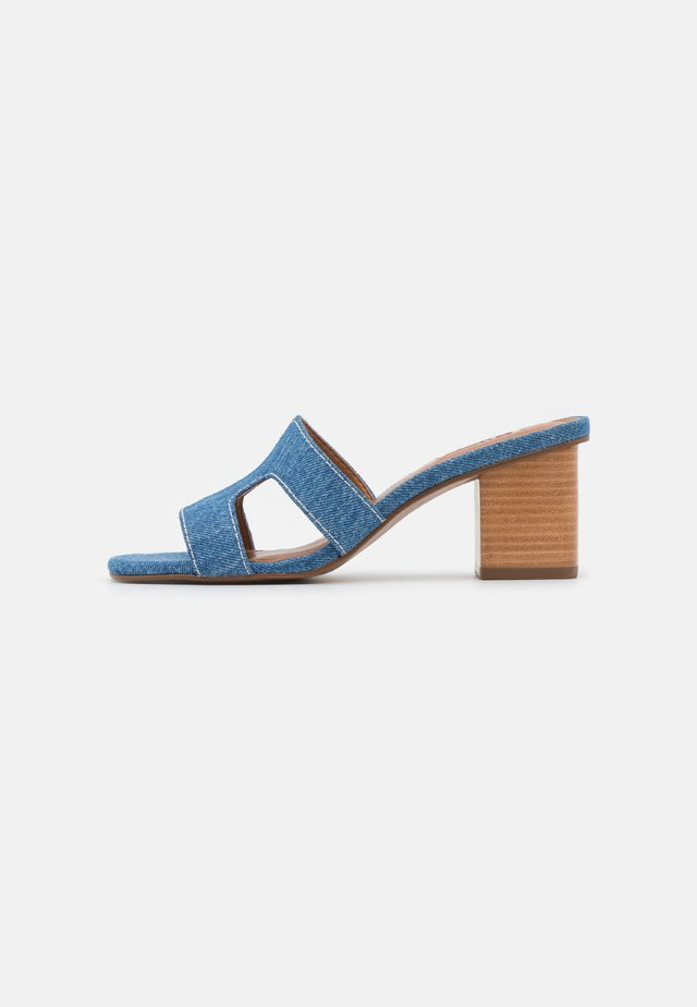 JUPE - Heeled mules - blue