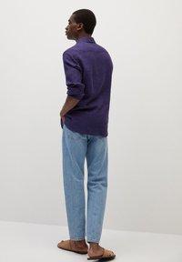 Mango - TEN - Shirt - dunkles marineblau - 2