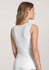 Calida - Top - white - 2