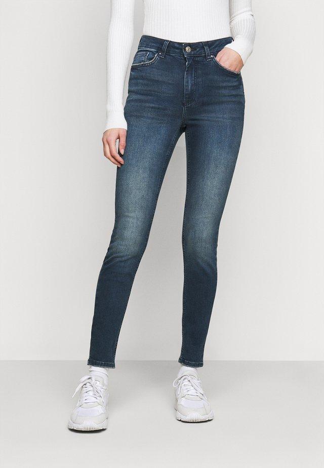 PCDELLY - Skinny džíny - dark blue denim