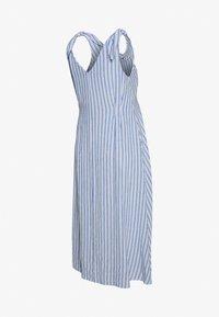 Gebe - DRESS AFRICA - Sukienka letnia - blue/off white - 1