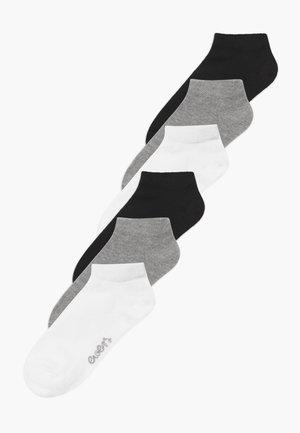 SNEAKER  MINI KIDS BASIC 6 PACK UNISEX - Strømper - weiß/grau/schwarz