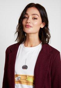 New Look - CROSS STRETCH - Blazere - dark burgundy - 3