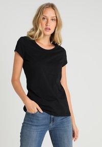 edc by Esprit - CORE - Basic T-shirt - black - 0