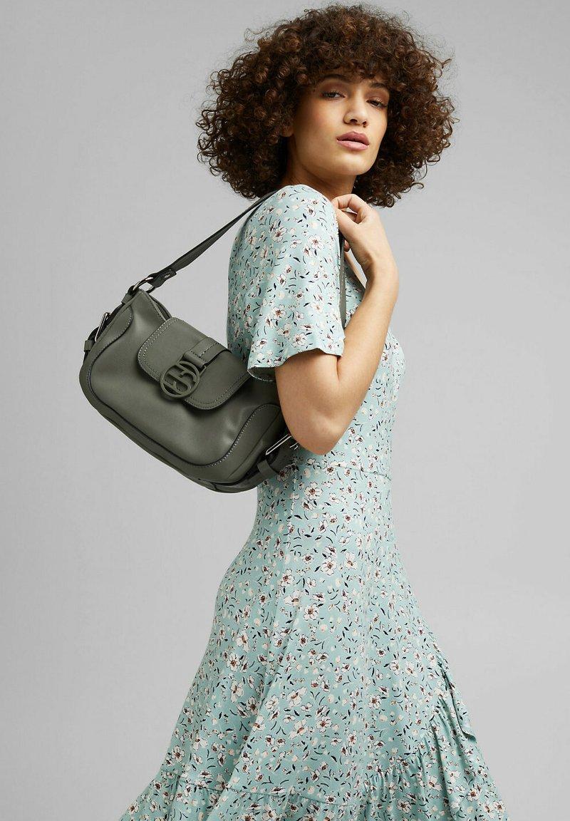 Esprit - HALLIE  - Handbag - olive