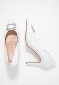 Dorothy Perkins - GLAD SQUARE COURT SHOE - High heels - white - 3