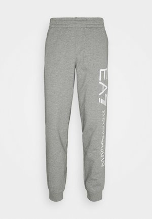 Tracksuit bottoms - grey/white