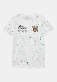 Abercrombie & Fitch - Print T-shirt - white - 0