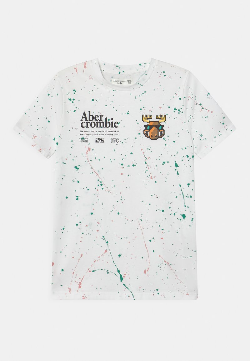 Abercrombie & Fitch - Print T-shirt - white
