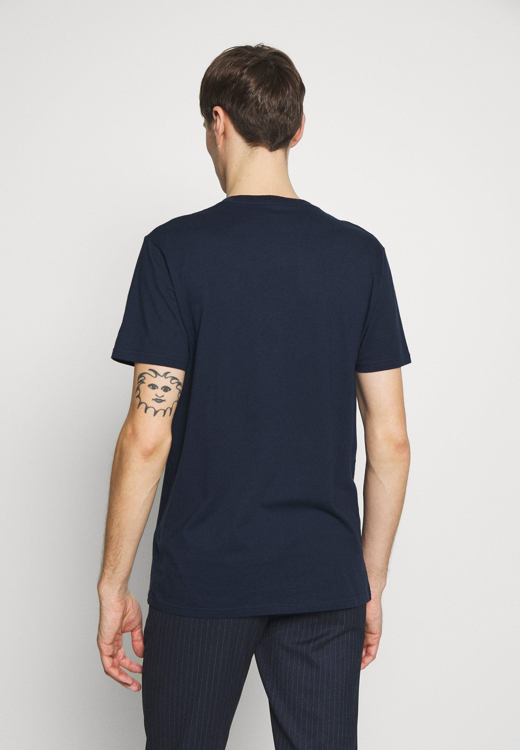 Hollister Co. CREW SOLIDS - Basic T-shirt - navy qRYrl