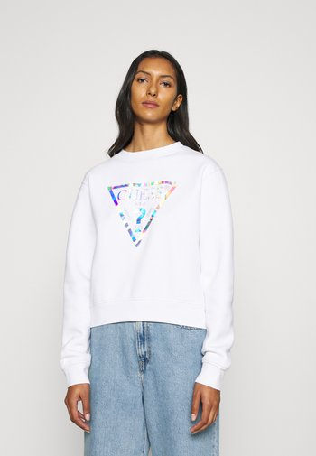 LAILA - Sweatshirt - pure white