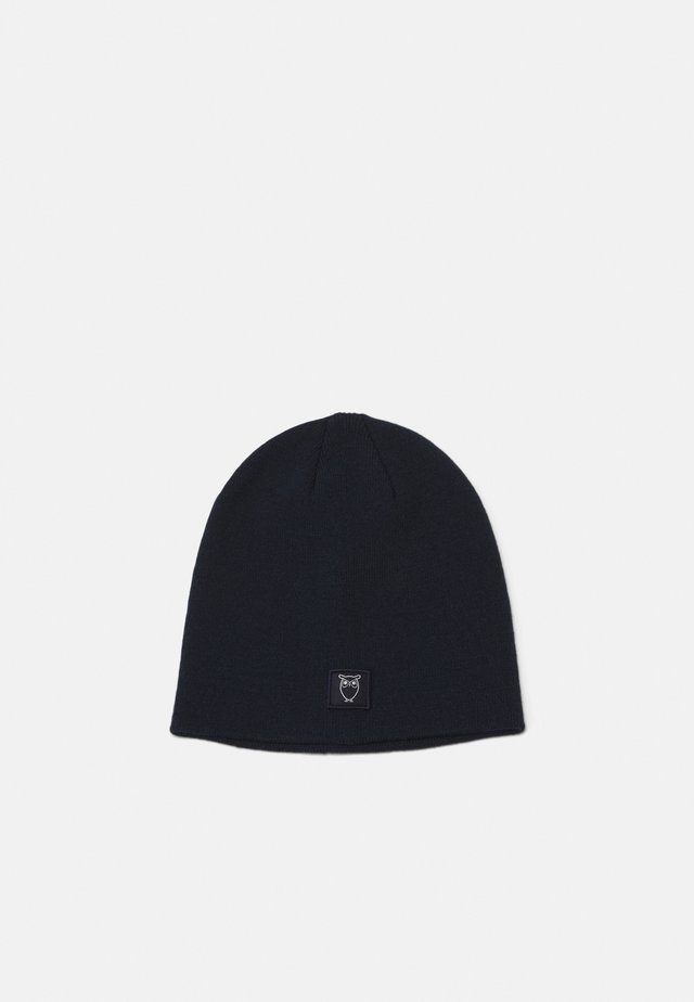 LEAF SINGLE BEANIE UNISEX - Pipo - total eclipse