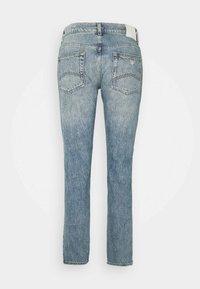 Emporio Armani - POCKETS PANT - Straight leg jeans - denim blu - 1