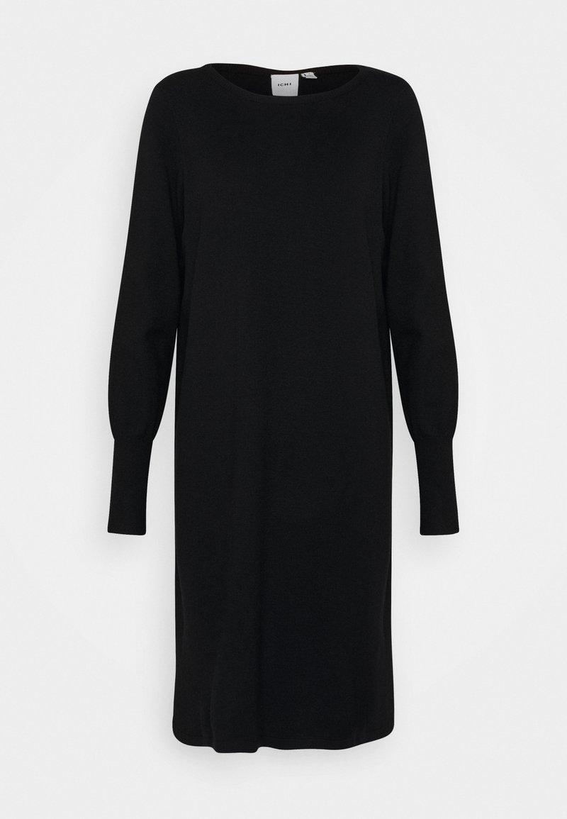 ICHI - KAVA  - Jumper dress - black