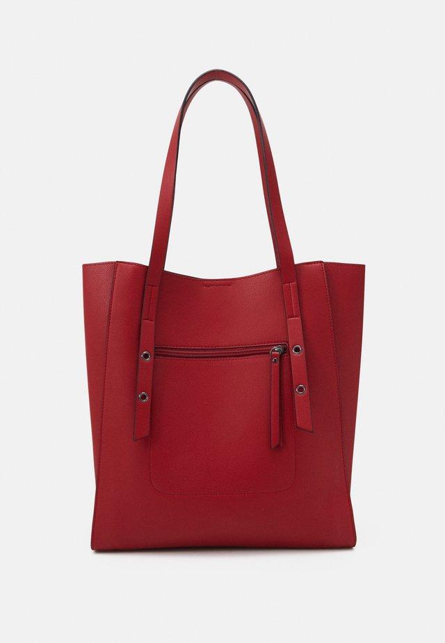 Shopping bag - red
