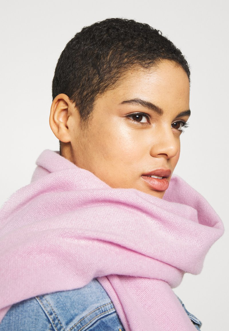 Marc O'Polo - SCARF LIGHT COZY - Scarf - bleached berry