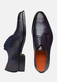SHOEPASSION - NO. 5438 - Smart lace-ups - dark blue - 1