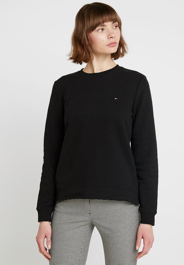 HERITAGE CREW NECK  - Sweatshirt - masters black