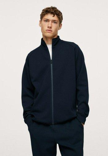 IBIZAF - Zip-up sweatshirt - dunkles marineblau