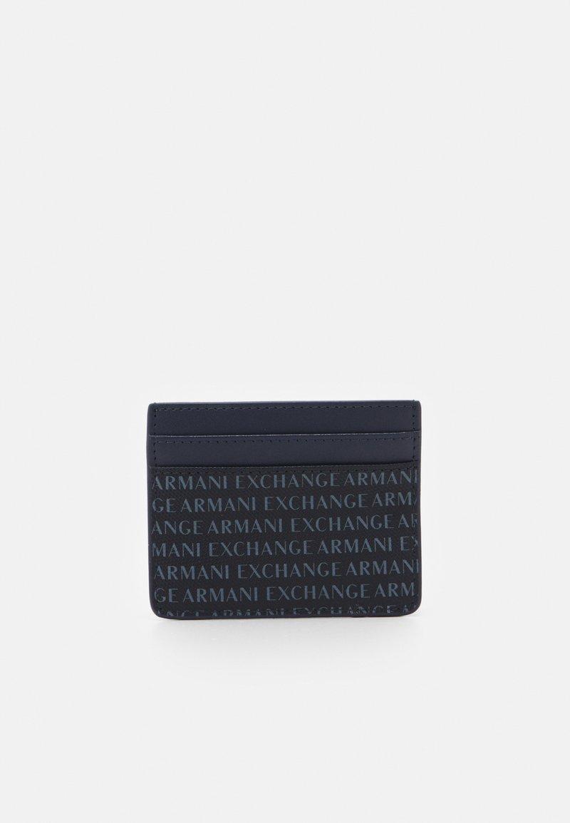 Armani Exchange - CARD HOLDER - Wallet - navy