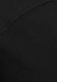 Simply Be - CREW NECK LONGLINE - Long sleeved top - black - 2