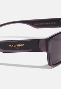 Dolce&Gabbana - UNISEX - Solbriller - transparent grey/black - 3