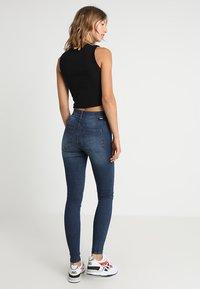 Dr.Denim - LEXY - Jeans Skinny Fit - worn dark blue - 2