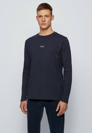 TCHARK - Long sleeved top - dark blue