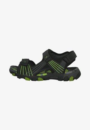 Walking sandals - schwarz kombi