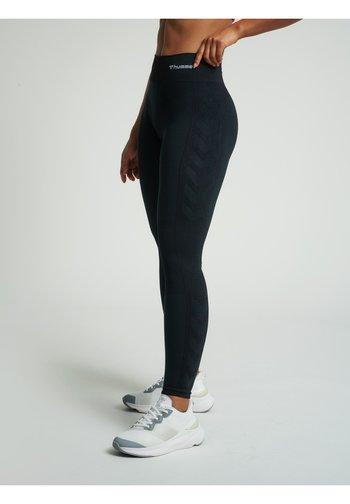 Tights - black melange