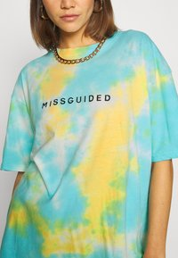 Missguided - COORD AND CYCLE TIE DYE SET - Shorts - blue - 5