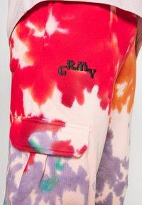 Grimey - UNISEX LIVEUTION MAGIC RESISTANCE - Tracksuit bottoms - multicolor - 4