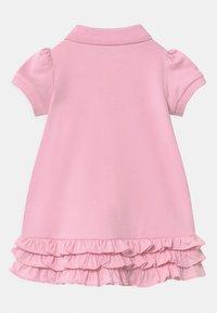 Polo Ralph Lauren - SOLID RUFFLE SET - Jersey dress - carmel pink - 1