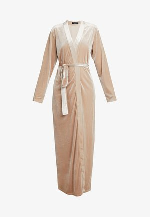KATRINA ROBE - Dressing gown - almond