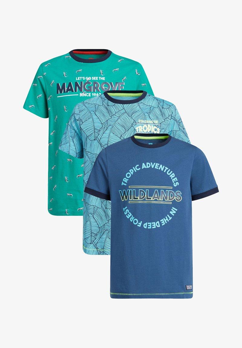 WE Fashion - 3-PACK - Camiseta estampada - multi-coloured
