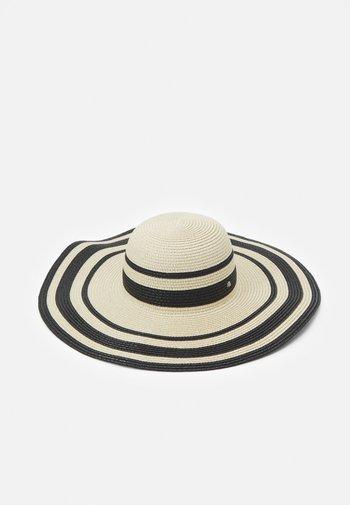 STRIPE SUNHAT - Hat - natural/black