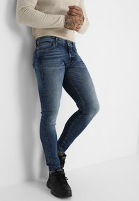 Jack & Jones - JJITOM JJORIGINAL - Jeansy Skinny Fit - blue denim - 0
