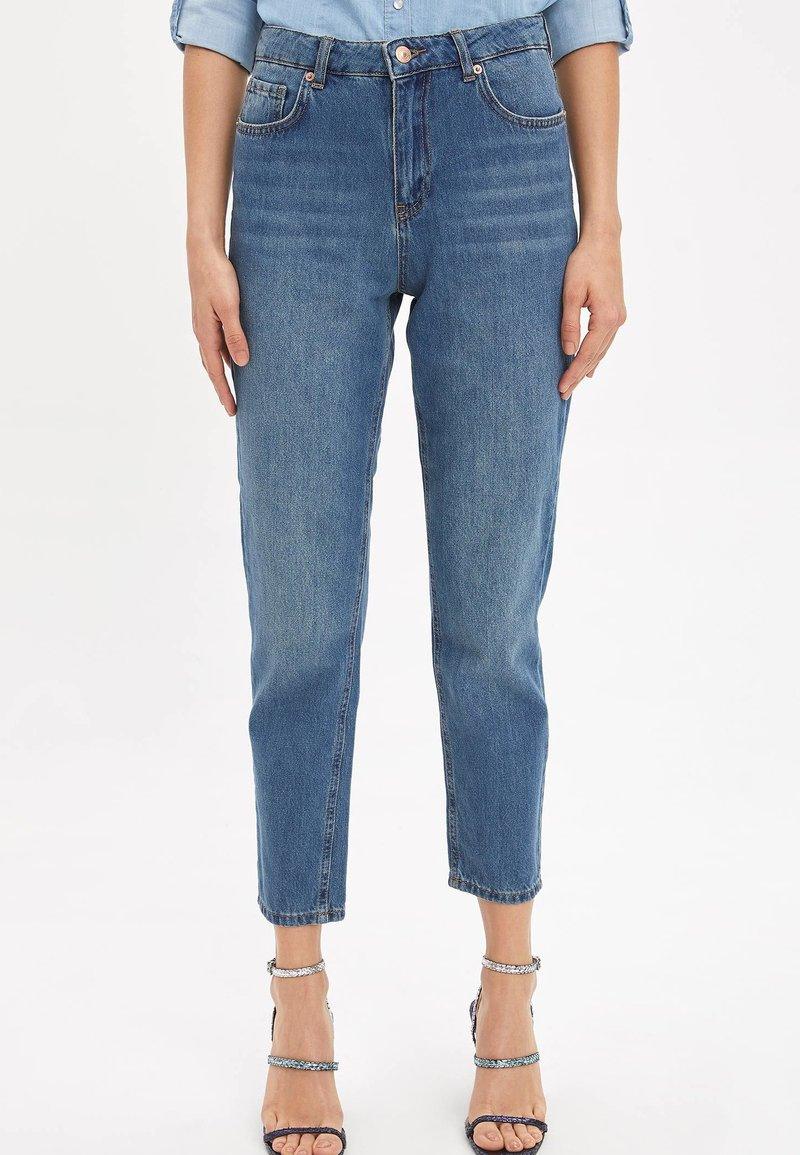 DeFacto - LINE MOM - Straight leg jeans - blue