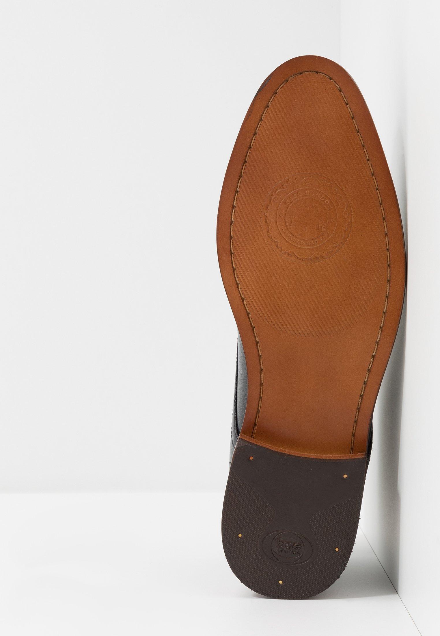 Multi colorato Scarpe da uomo Base London CAMEO Stringate black