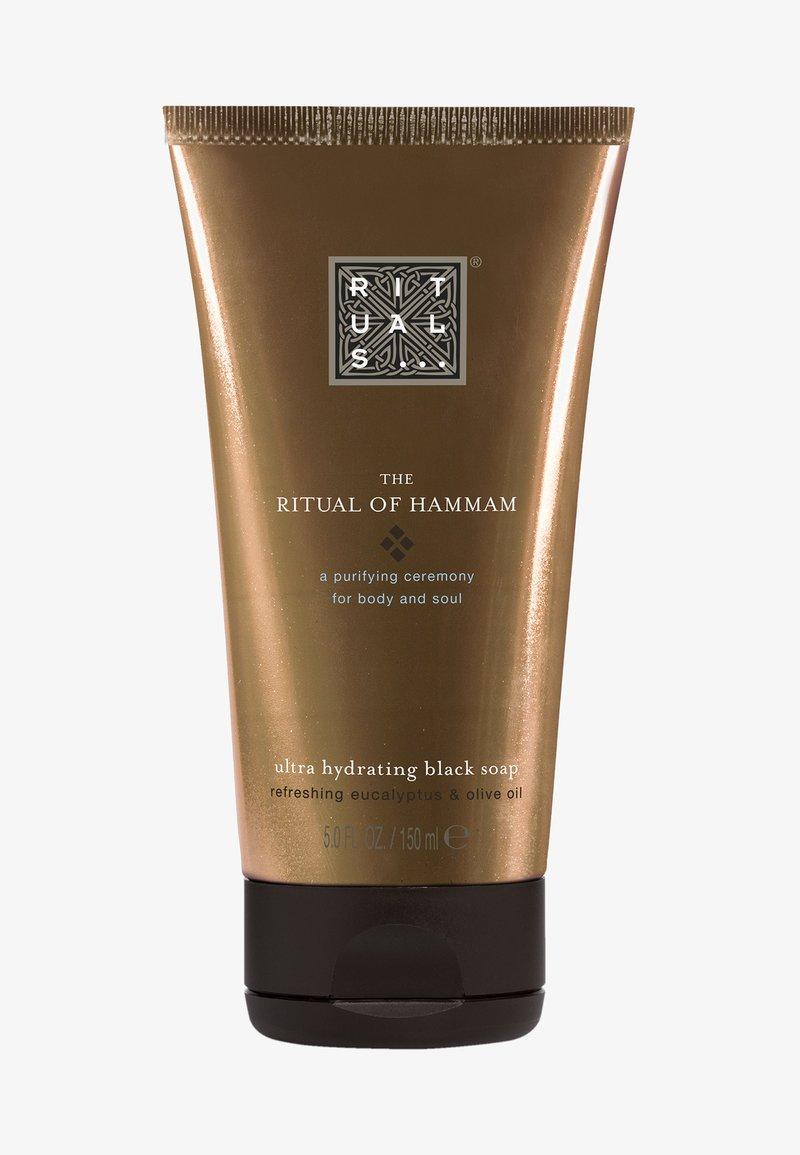 Rituals - THE RITUAL OF HAMMAM BLACK SOAP - Liquid soap - -