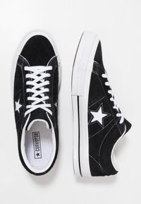 Converse - ONE STAR - Trainers - black/white - 1