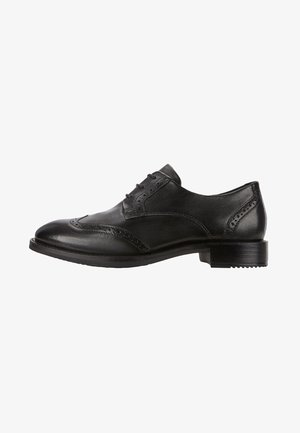 SARTORELLE TAILORED - Smart lace-ups - black