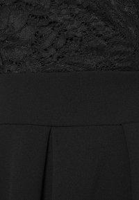 WAL G. - SKATER DRESS - Sukienka koktajlowa - black - 2