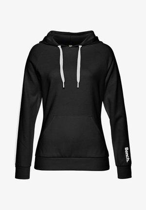 Hoodie - schwarz-weiß