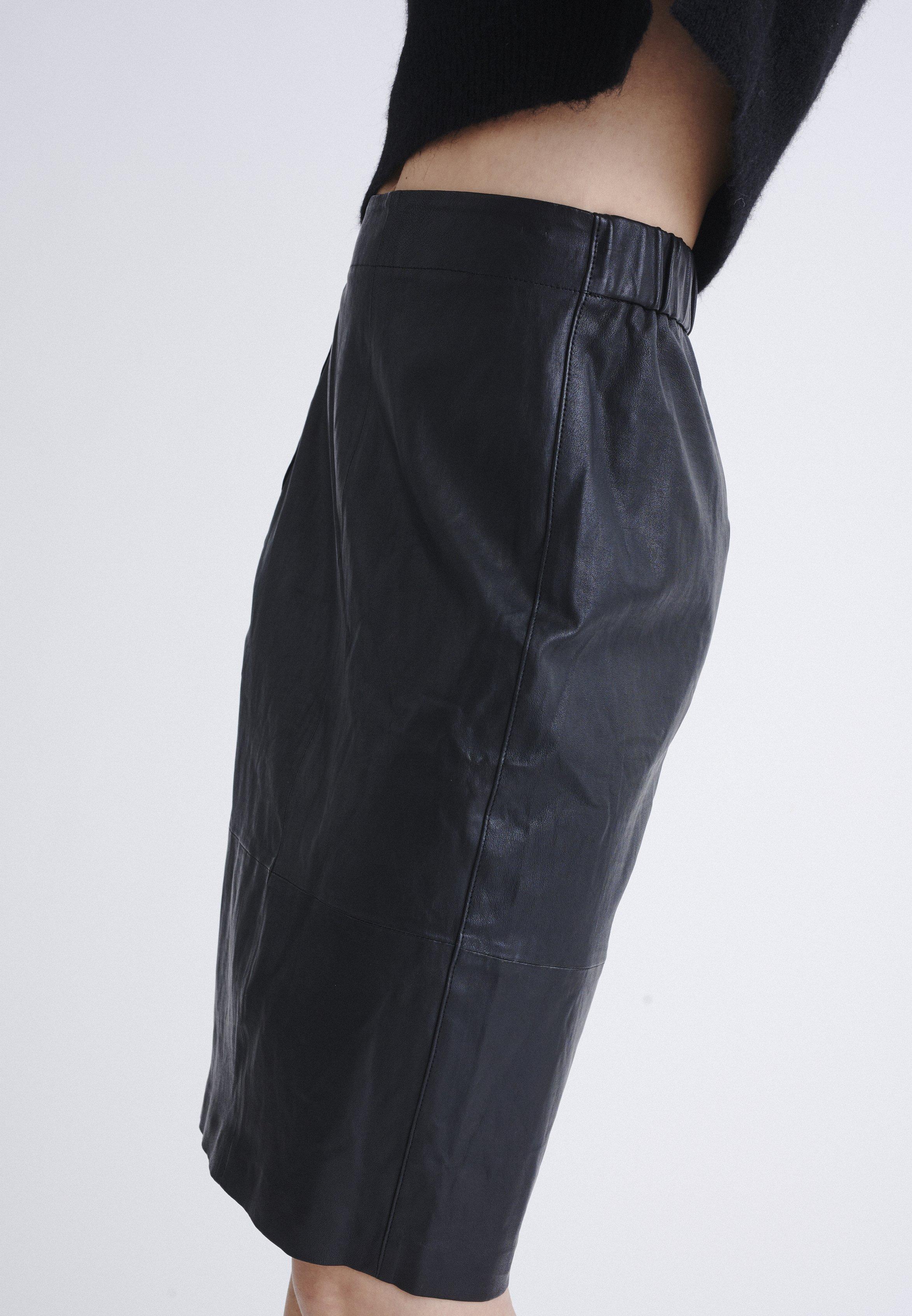 Auténtico Ropa de mujer InWear LUELLA Falda de tubo black B3RPaL