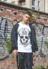 Ed Hardy - SKULL-13 T-SHIRT - Print T-shirt - white - 3