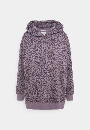 HOODIE PRINT - Sweatshirt - lilac